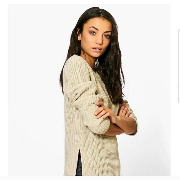 33460ebcd60 ASOS Sweaters - Boohoo Tall Sara Split Side Sweater